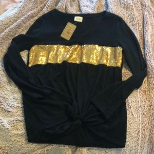 Never worn sequins sweater